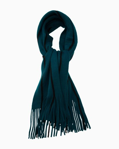 2 On The Fringes Scarf Green JASCWBON Billabong