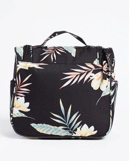 2 Travel Beauty Toiletry Bag Black JATV3BTB Billabong