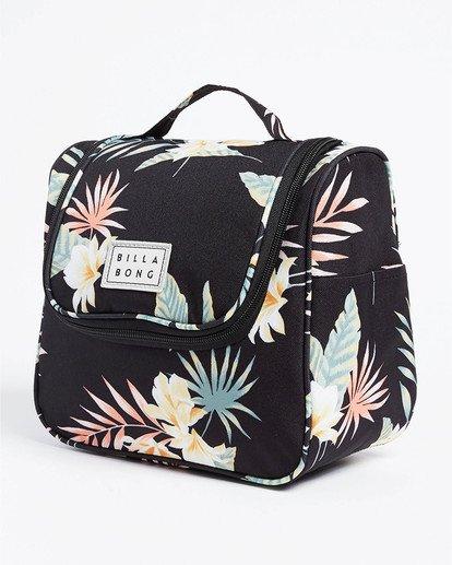 1 Travel Beauty Toiletry Bag Black JATV3BTB Billabong