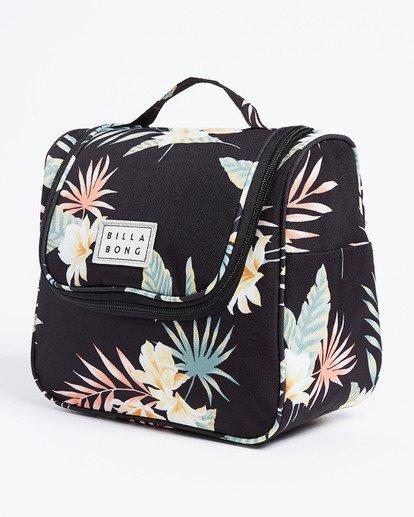 4 Travel Beauty Toiletry Bag Black JATV3BTB Billabong
