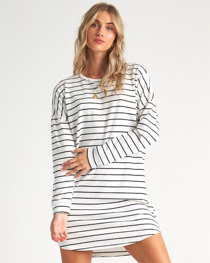 1 Weekend Bliss Dress White JD011BWE Billabong