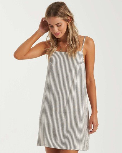 1 Day Dreamer Mini Dress White JD013BDA Billabong