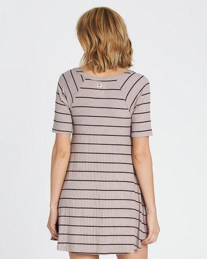 3 Hide Away Knit Dress Grey JD01SBHI Billabong