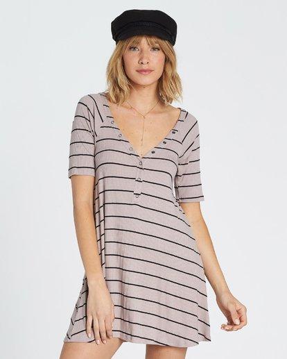 4 Hide Away Knit Dress Grey JD01SBHI Billabong
