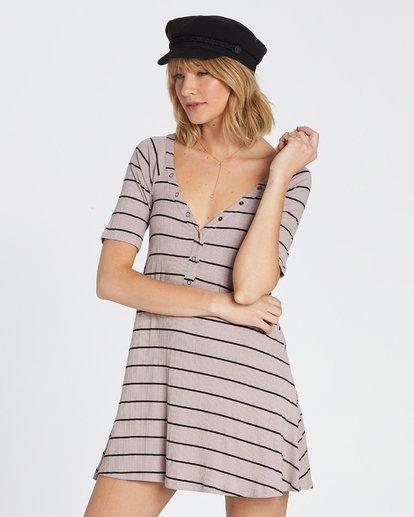 2 Hide Away Knit Dress Grey JD01SBHI Billabong