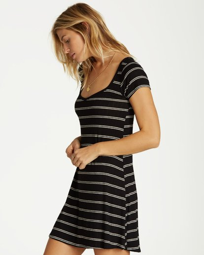 1 Right Away Mini Dress Black JD03VBRI Billabong