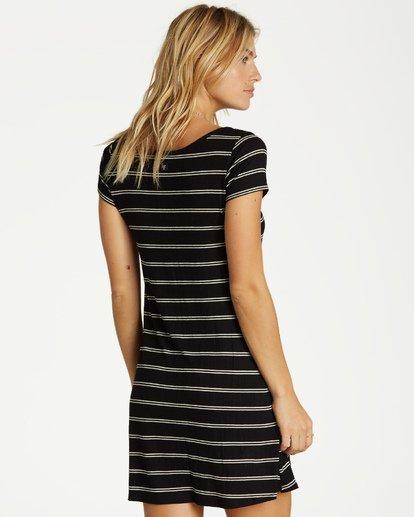 2 Right Away Mini Dress Black JD03VBRI Billabong