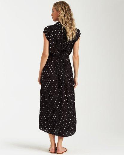 2 Little Flirt Maxi Dress Black JD04VBLI Billabong