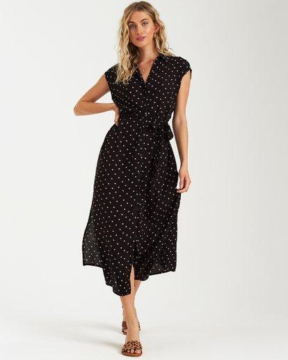 3 Little Flirt Maxi Dress Black JD04VBLI Billabong