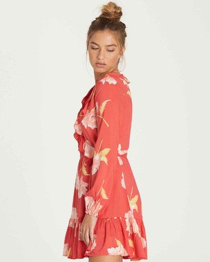 2 Ruff Girls Club Mini Dress  JD06PBRU Billabong