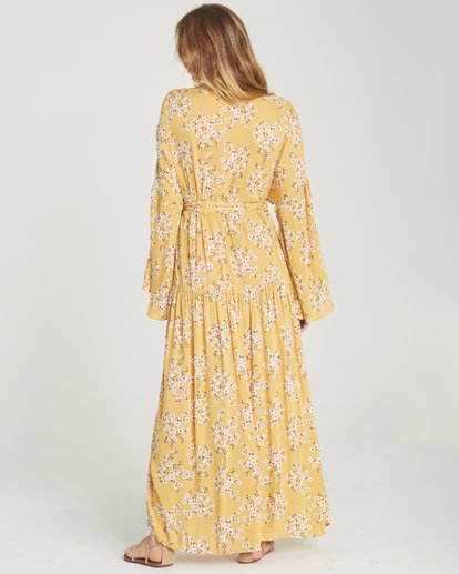 3 My Favorite Maxi Dress Yellow JD06TBMY Billabong