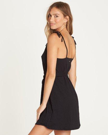 2 Going Steady Mini Dress Black JD06UBGO Billabong