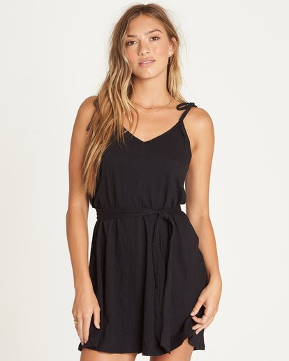 0 Going Steady Mini Dress Black JD06UBGO Billabong