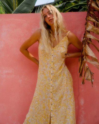 1 Sweet Edges Dress Yellow JD06VBSW Billabong