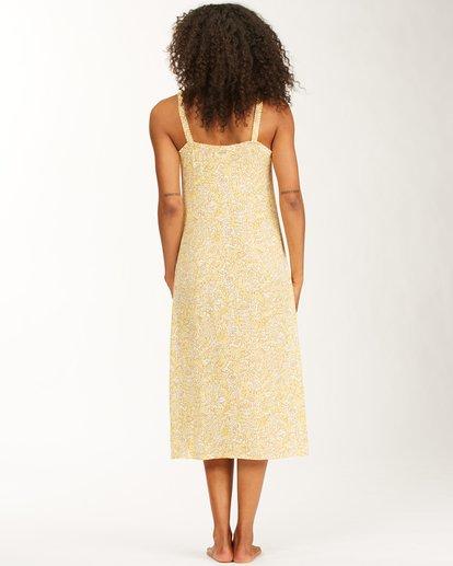 4 Sweet Edges Dress Yellow JD06VBSW Billabong