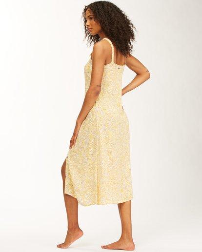 5 Sweet Edges Dress Yellow JD06VBSW Billabong