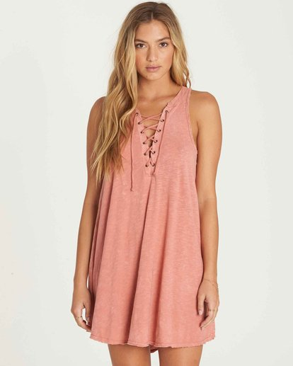 0 Let Loose Dress Pink JD08PBLE Billabong