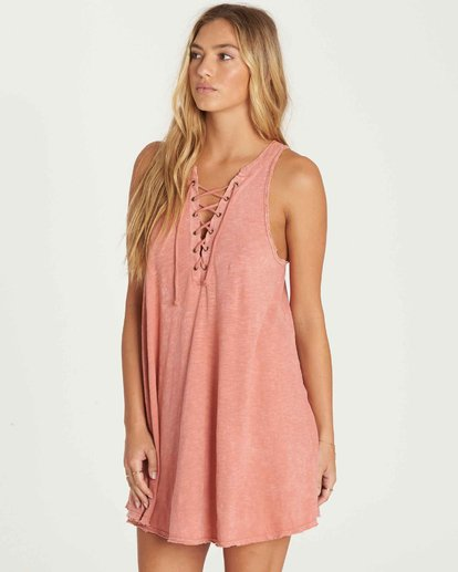 1 Let Loose Dress Pink JD08PBLE Billabong