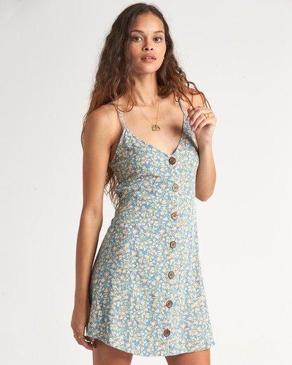 0 Sweet For Ya Dress Blue JD101BSW Billabong