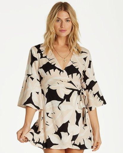 0 Divine Day Dress Black JD12VBDI Billabong