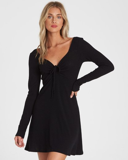 0 Walk Away Dress Black JD12WBWA Billabong