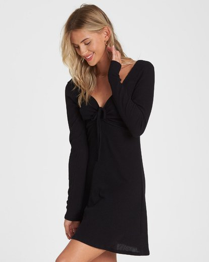 1 Walk Away Dress Black JD12WBWA Billabong