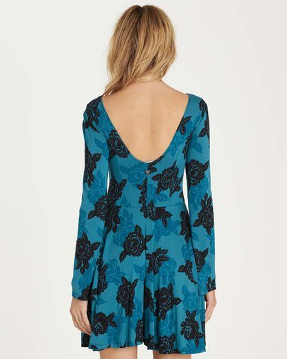 2 Steal Time Dress Blue JD14MSTE Billabong