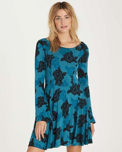 0 Steal Time Dress Blue JD14MSTE Billabong