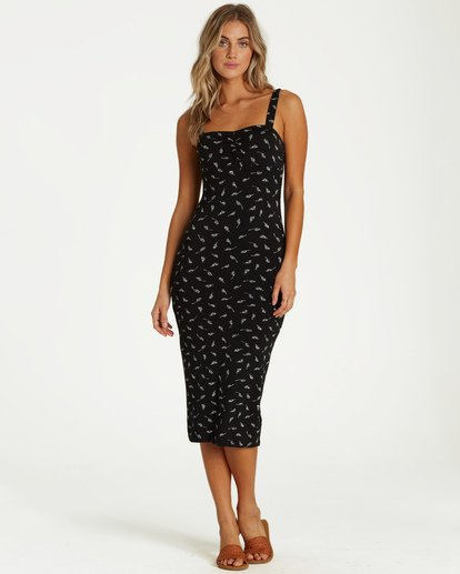 0 Love Affair Dress Black JD14VBLO Billabong