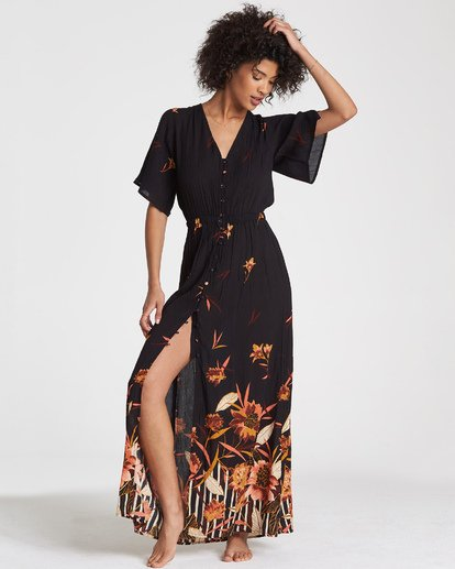 1 Autumn Breeze Dress Black JD14WBAU Billabong