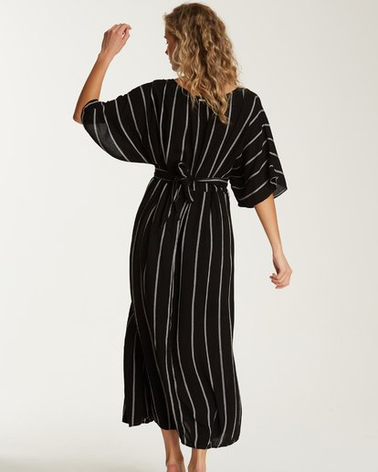 3 Forever Fine Midi Dress Black JD15TBFN Billabong