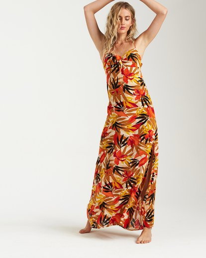 1 Sweet Kiss Maxi Dress Grey JD15UBSW Billabong