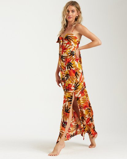2 Sweet Kiss Maxi Dress Black JD15UBSW Billabong