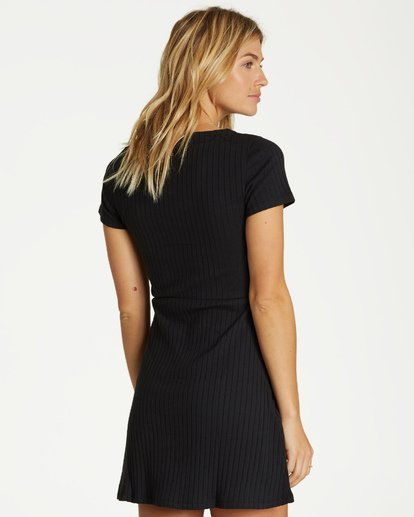 2 On With It Dress Black JD15VBON Billabong