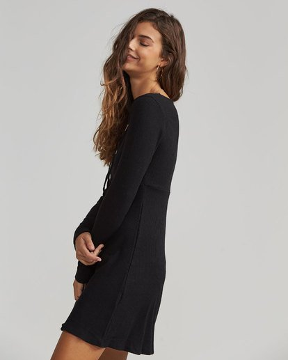 1 Walk On Long Sleeve Sweater Dress  JD17SBWA Billabong