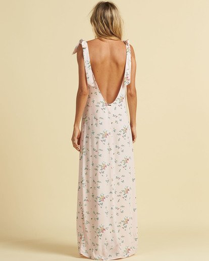 2 Salty Blonde Beach Party Maxi Dress Pink JD193BBE Billabong