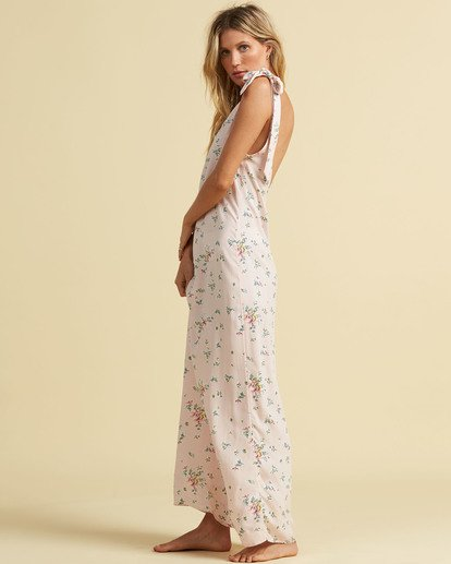 1 Salty Blonde Beach Party Maxi Dress Pink JD193BBE Billabong