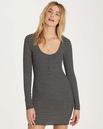 0 Right Side Dress Black JD19MRIG Billabong