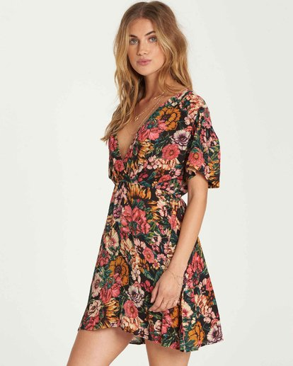 1 With You Mini Dress  JD20QBWI Billabong