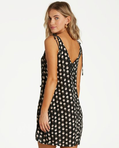2 High Tied Mini Dress Black JD21VBHI Billabong