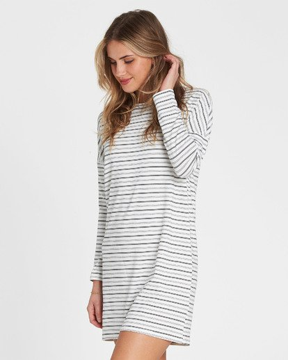 1 Simply Put Shirt Dress White JD22QBSI Billabong