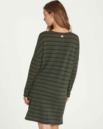 2 Simply Put Shirt Dress Green JD22QBSI Billabong