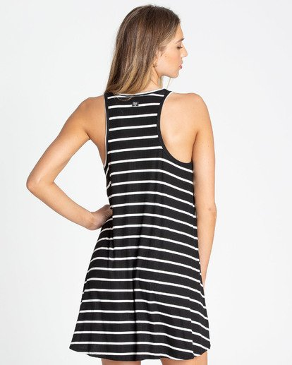 2 Easy Dreamin Tank Dress Black JD23TBEA Billabong