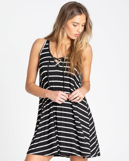 1 Easy Dreamin Tank Dress Black JD23TBEA Billabong