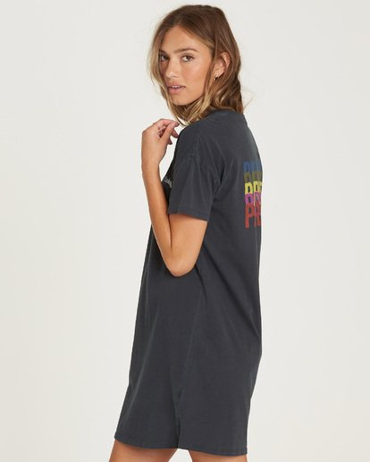 1 Last Quarter Shirt Dress  JD24QBLA Billabong