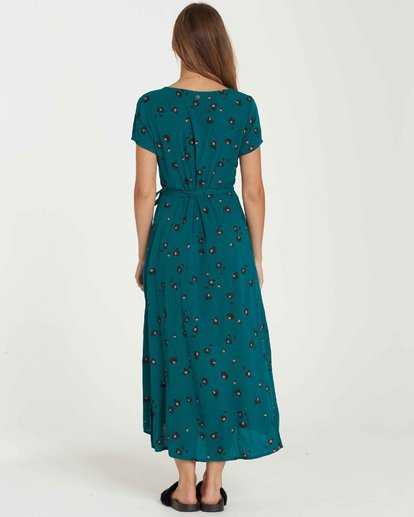 3 Wrap Me Up Dress Blue JD25JWRA Billabong