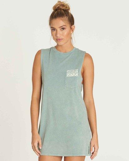 0 No Time Muscle Tee Shirt Dress  JD28PBNO Billabong