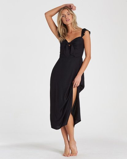 0 Cherry Lips Dress Black JD28WBCH Billabong