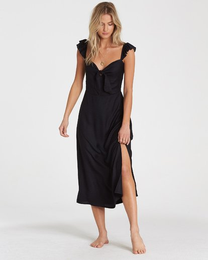 1 Cherry Lips Dress Black JD28WBCH Billabong