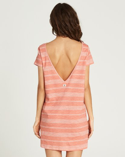 2 Move Fast Shirt Dress Pink JD29PBMO Billabong